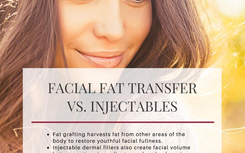 Facial Fat Transfer vs. Injectables